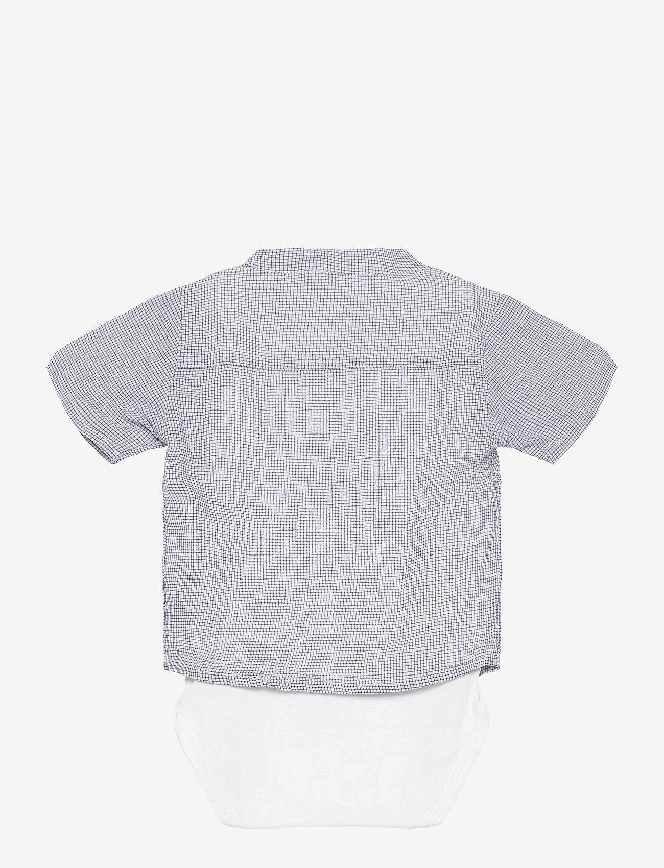 name it - NBMHELMAR SS BODY SHIRT - shirts - bright white - 1