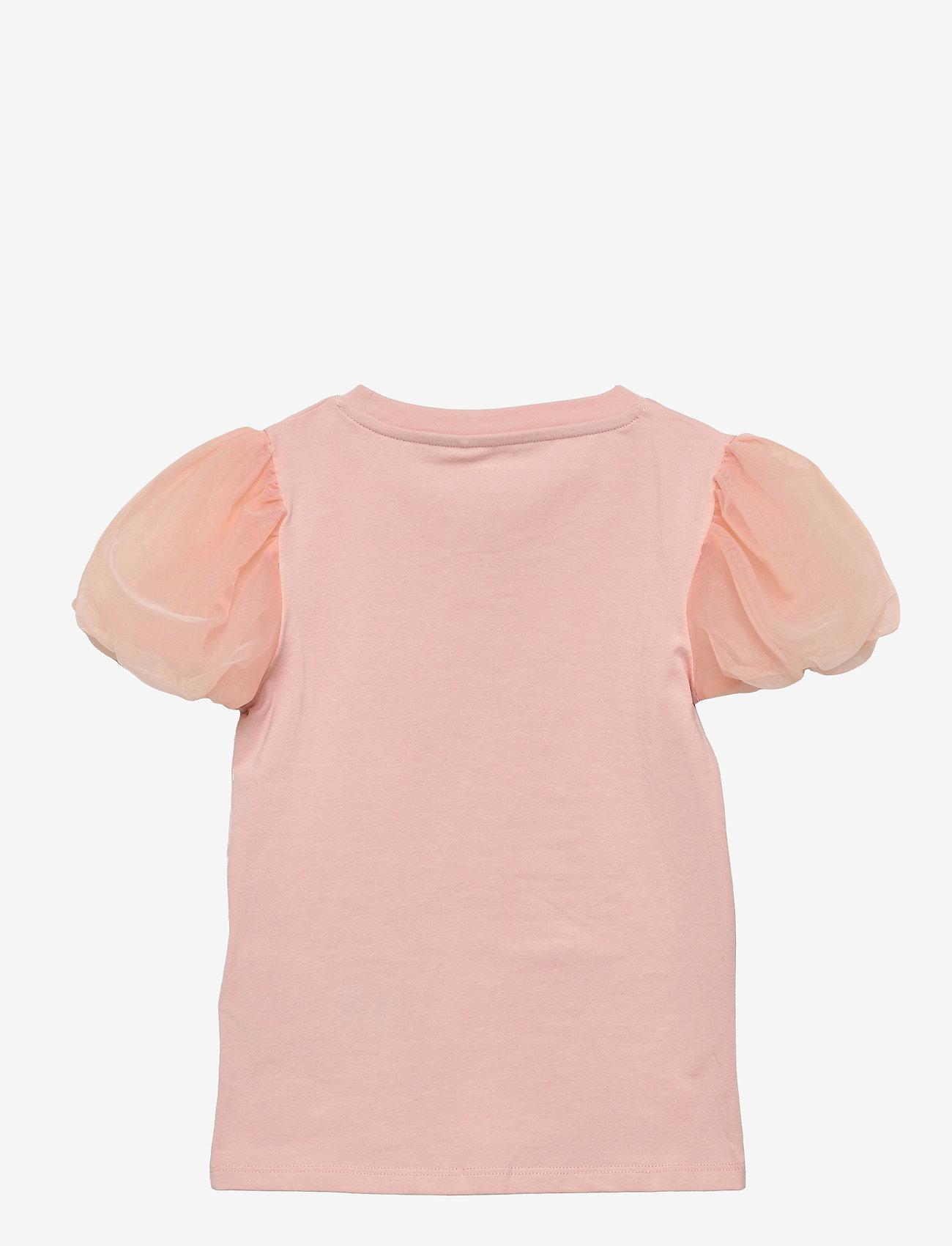 name it - NMFHARUNA SS TOP - t-shirts - peach whip - 1