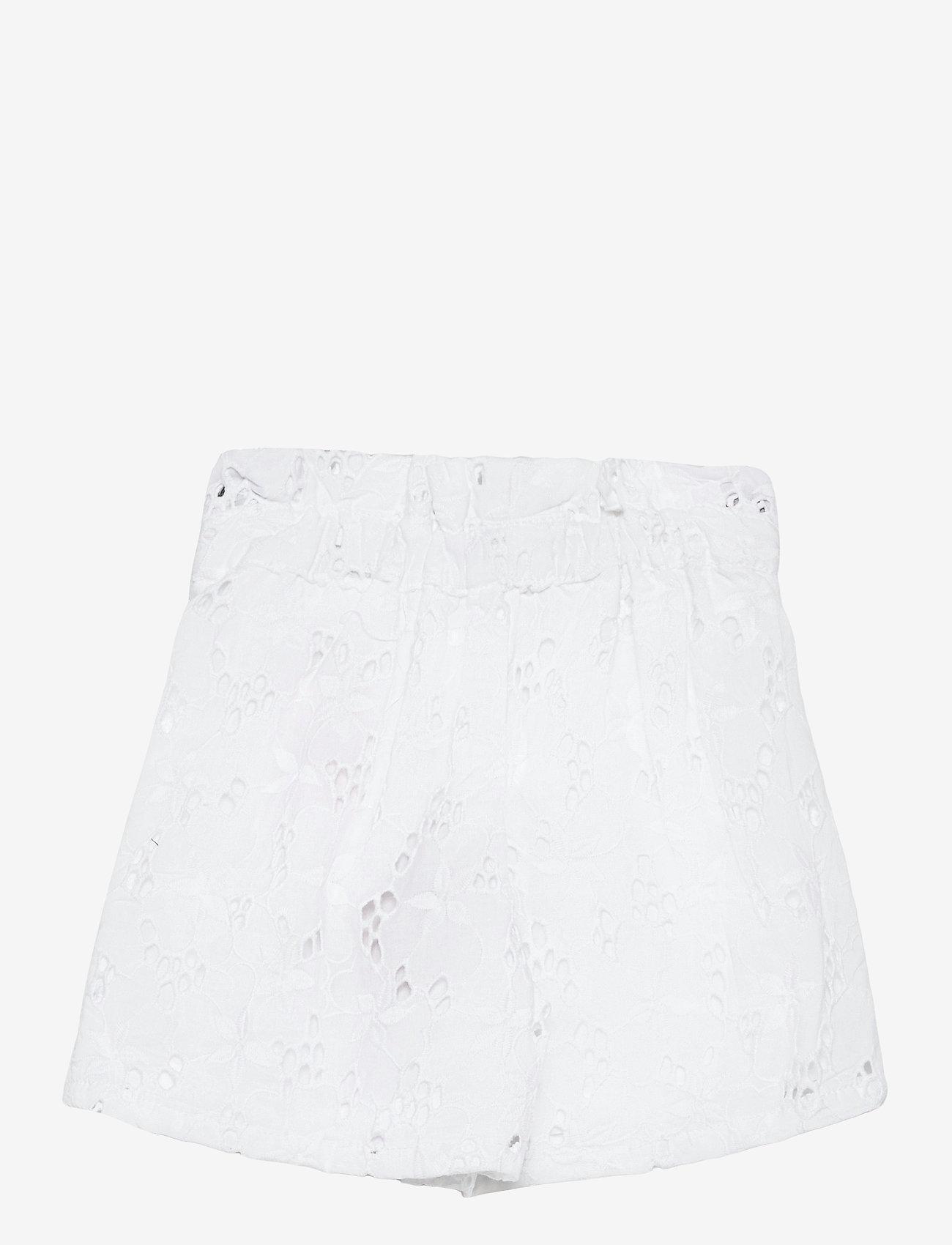 name it - NMFFANNE SHORTS - shorts - bright white - 1