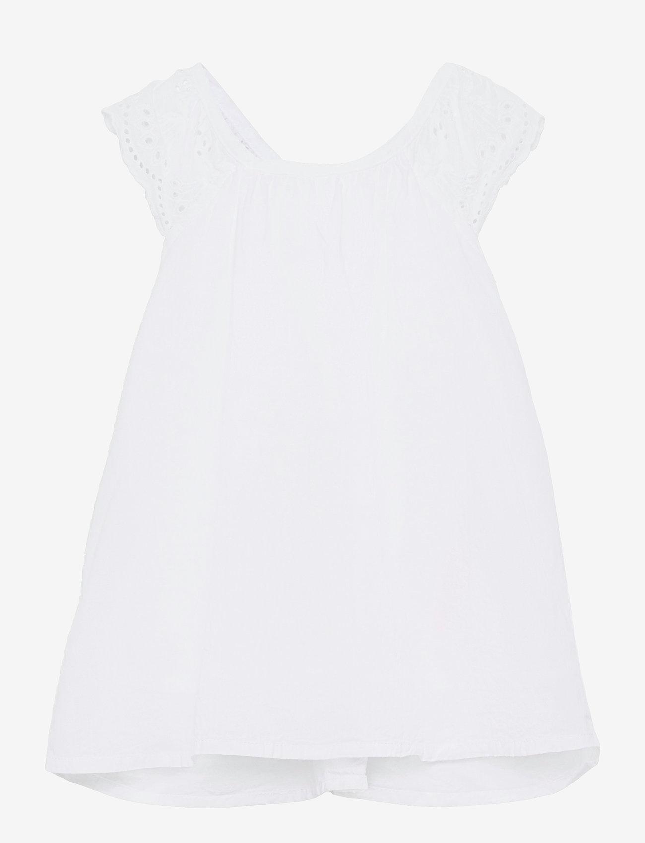 name it - NMFFANNE SPENCER - kleider - bright white - 0