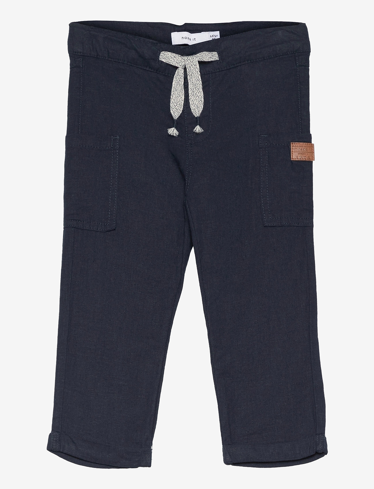 name it - NMMHORNE PANT - trousers - dark sapphire - 0