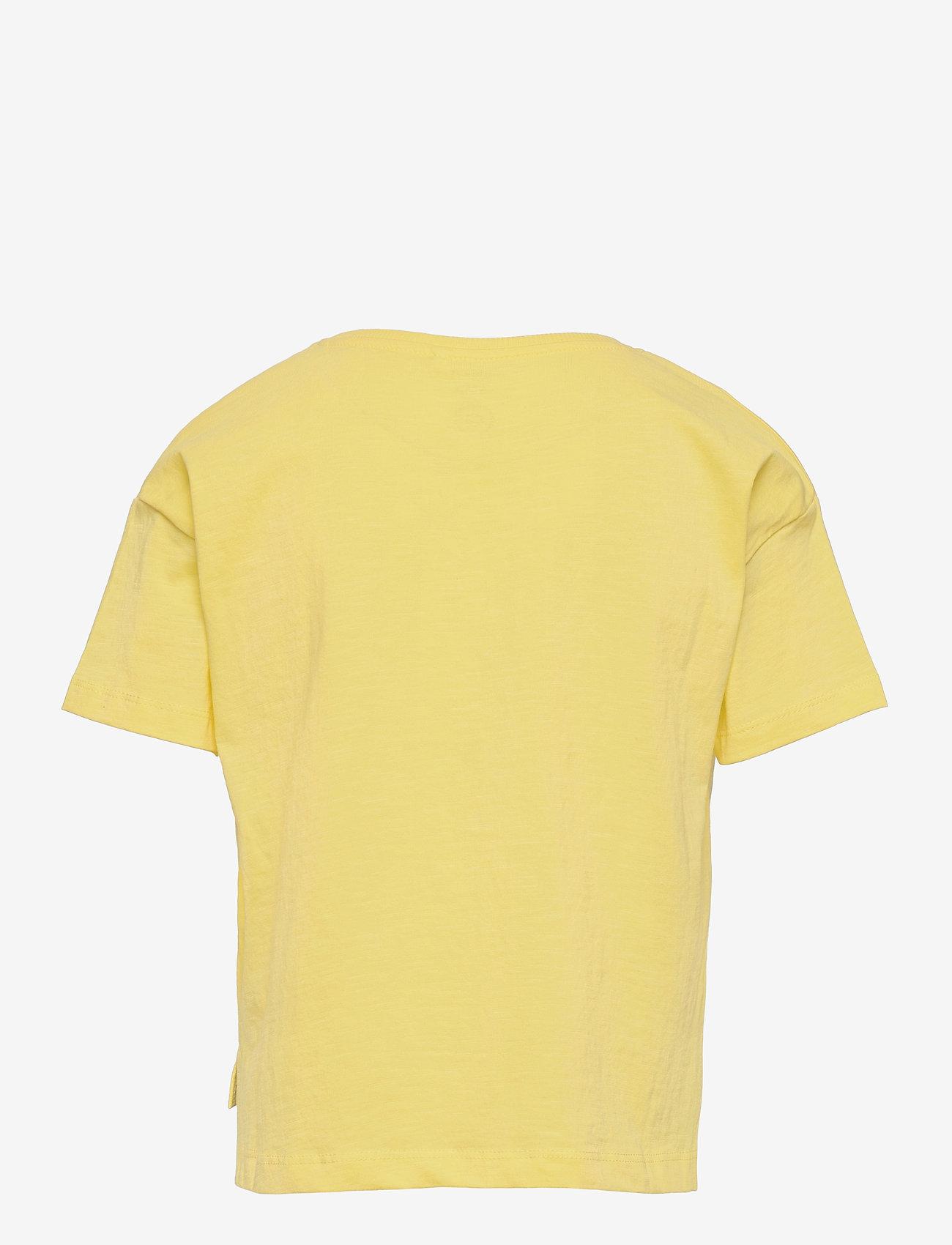 name it - NKFHADIYA SS BOXY TOP - t-shirts - lemon verbena - 1