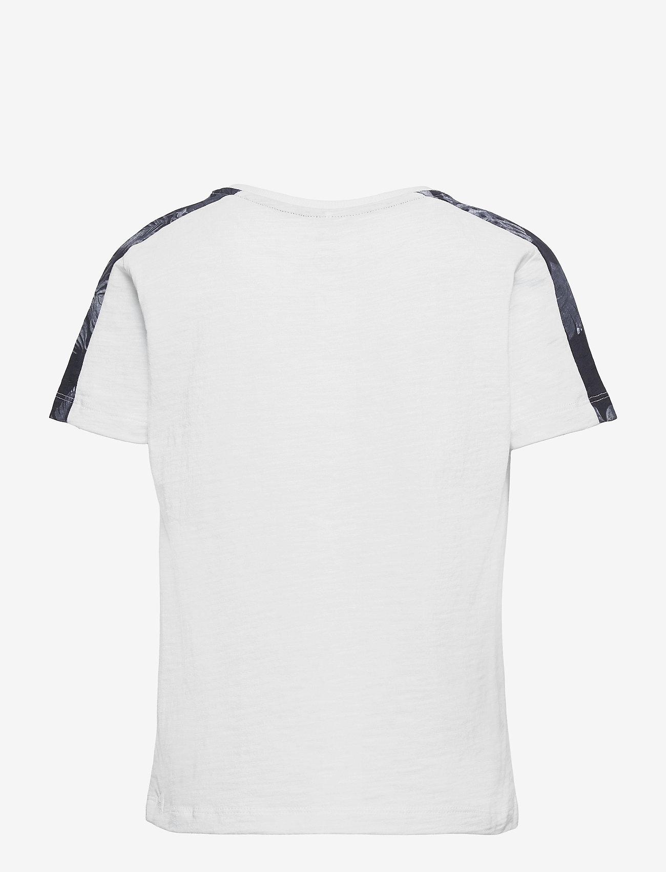 name it - NKMHAILOM SS TOP - t-shirts - bright white - 1