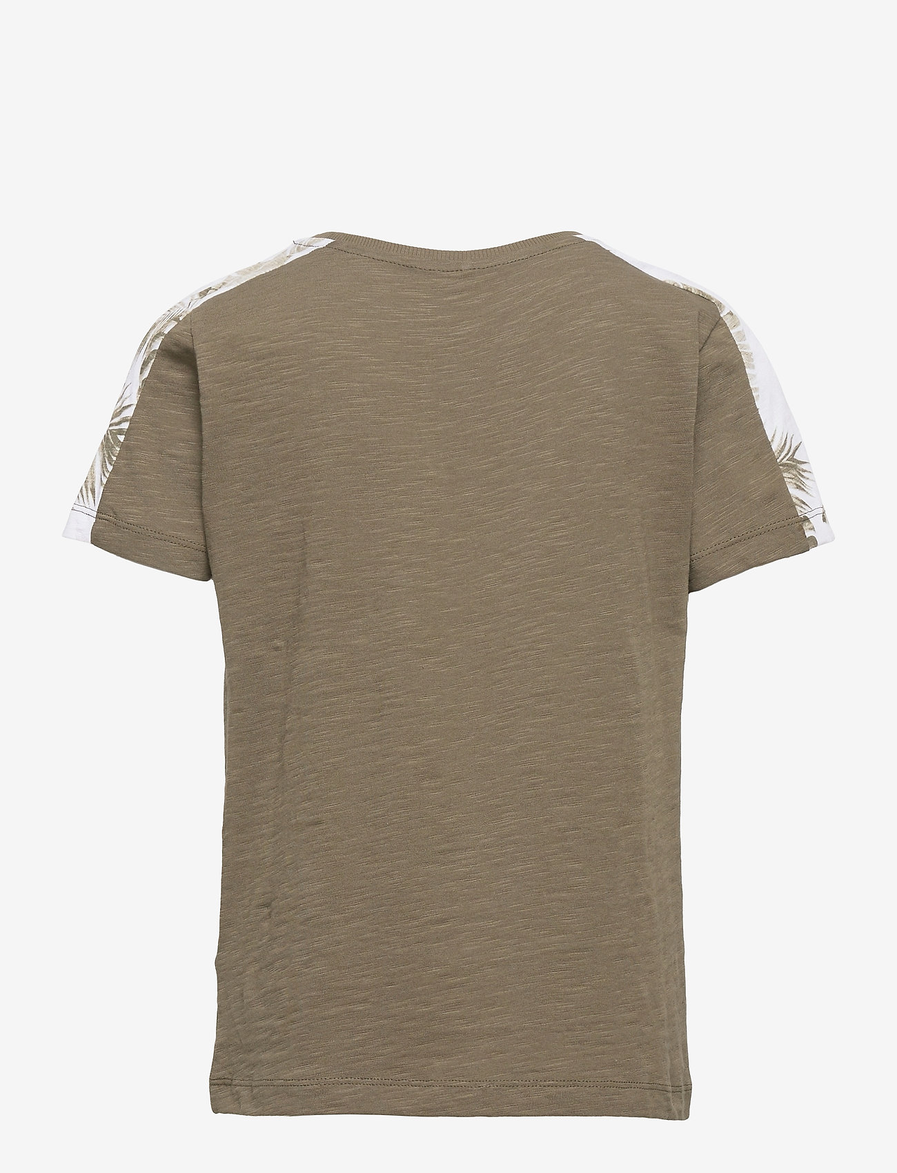 name it - NKMHAILOM SS TOP - t-shirts - ivy green - 1