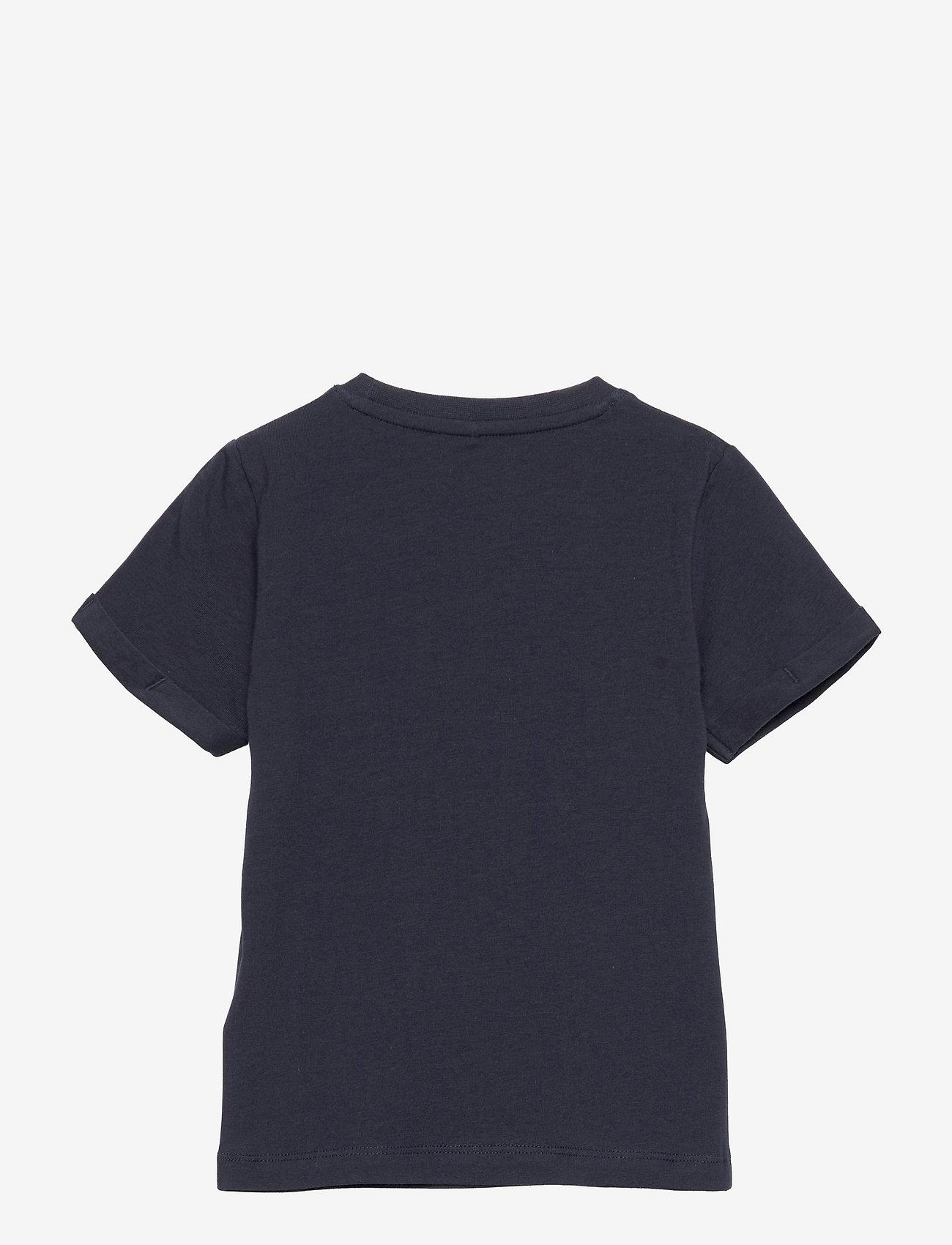 name it - NMMHOTWHEELS EVALD SS TOP LIC - t-shirts - dark sapphire - 1
