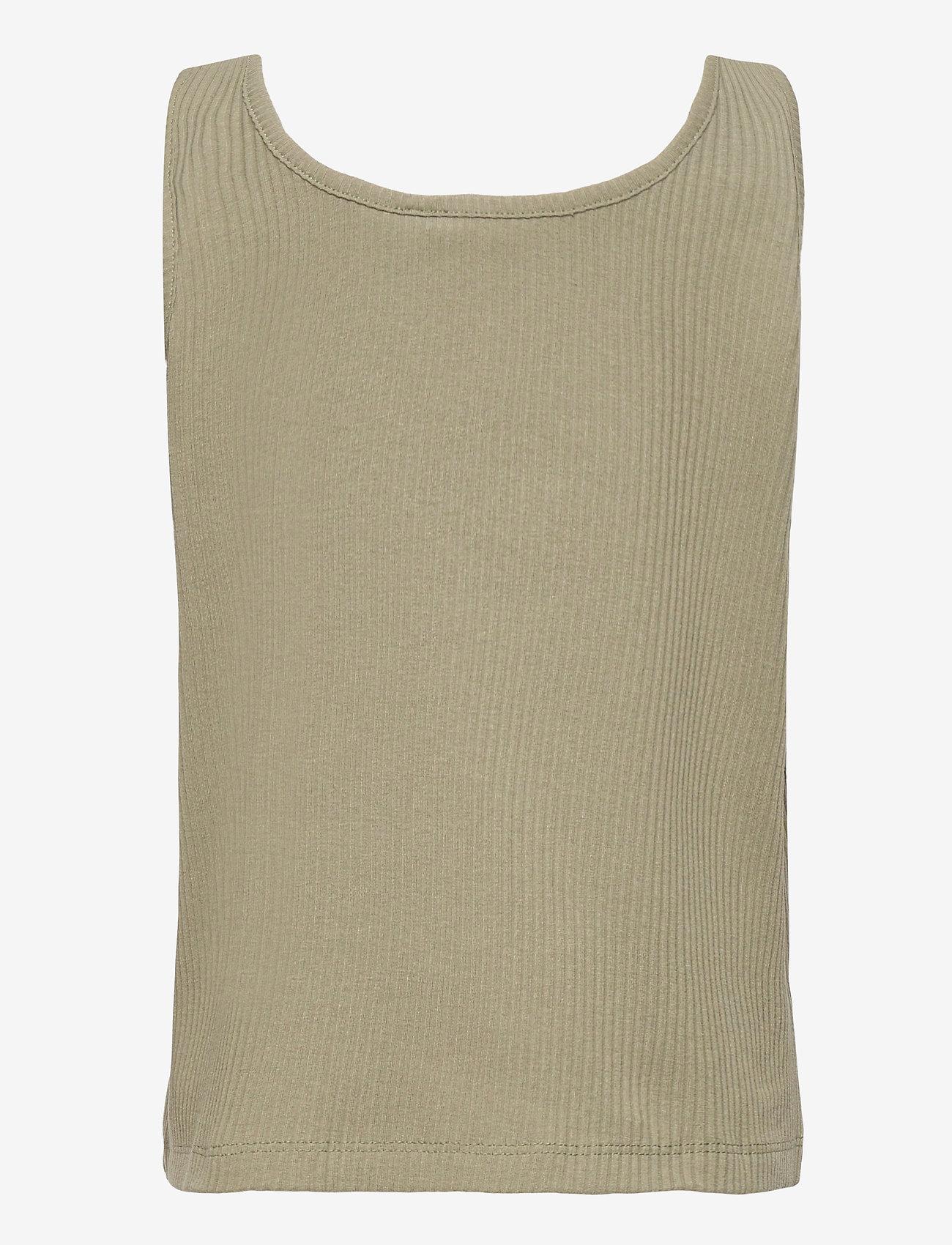 name it - NKFVAJA SHORT TANK TOP HH - t-shirts - deep lichen green - 1