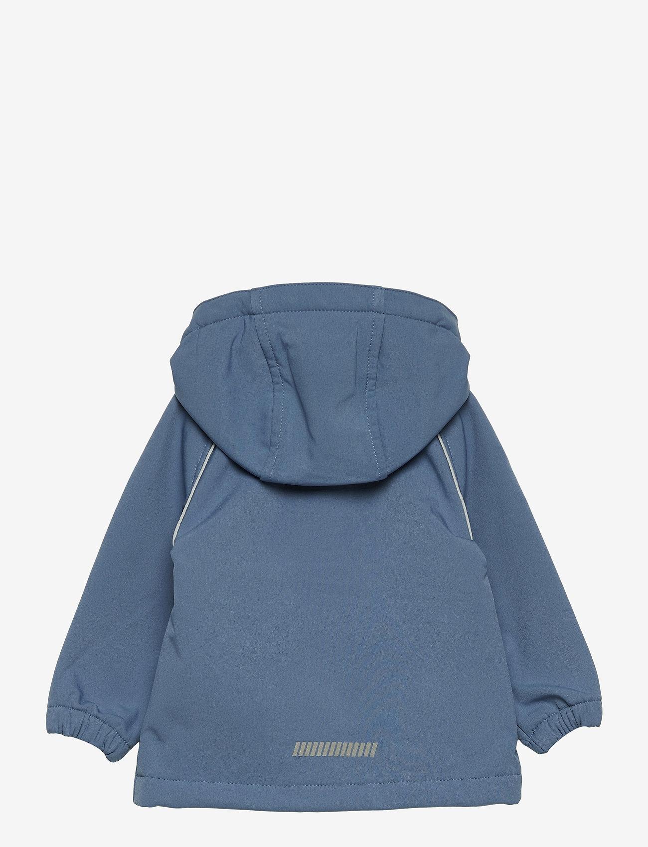 name it - NMMALFA SOFTSHELL JACKET MAGIC 3FO CAMP - softshell jassen - captains blue - 1