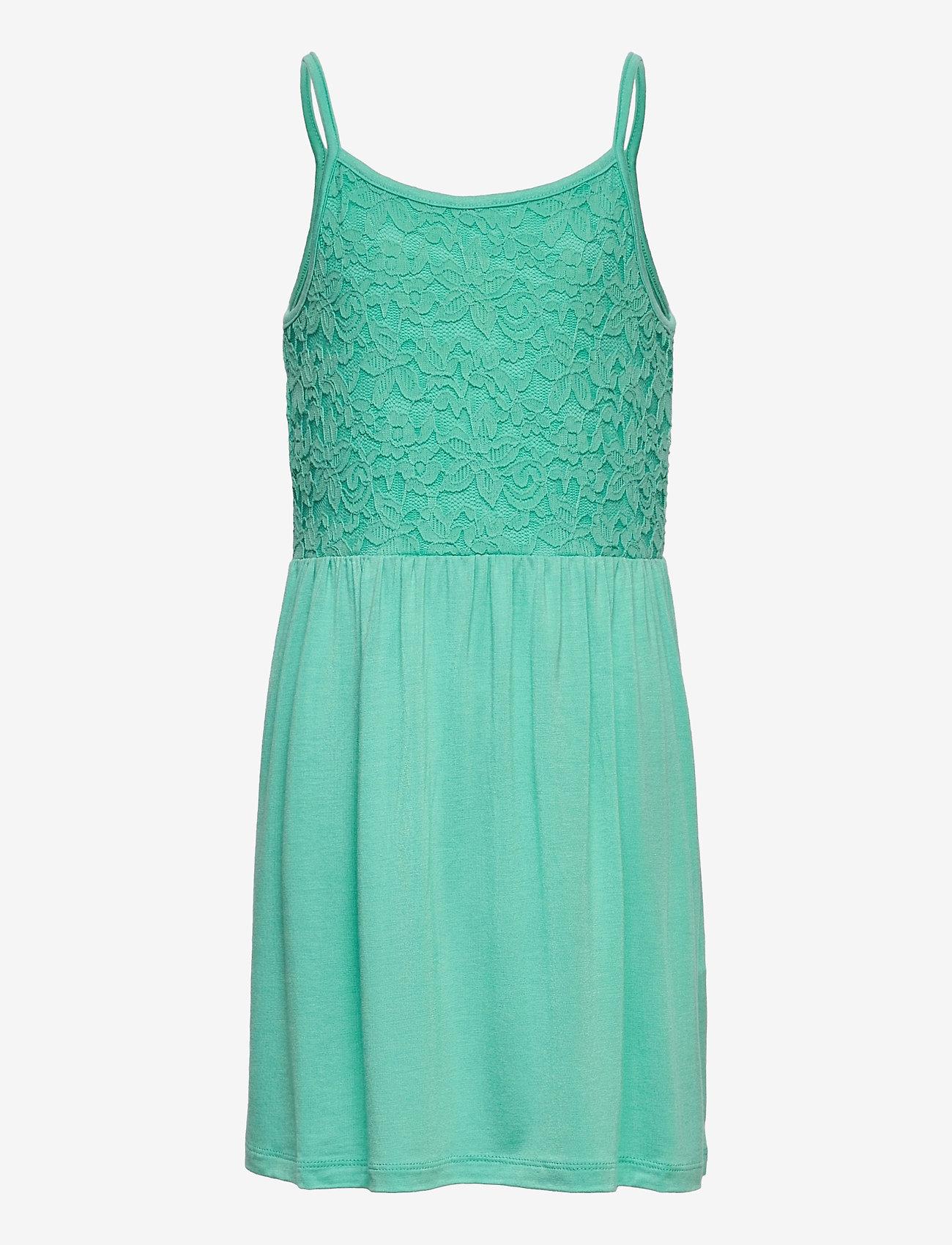 name it - NKFBEOLIVIA SL DRESS - kleider - pool blue - 0