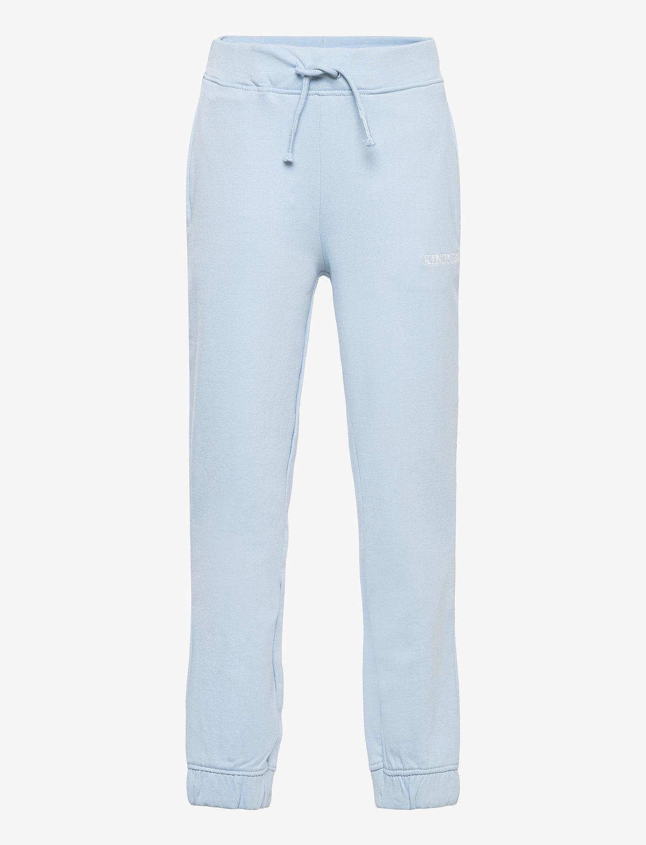 name it - NKFHOWAY SWEAT PANT  BRU - jogginghosen - dusty blue - 0