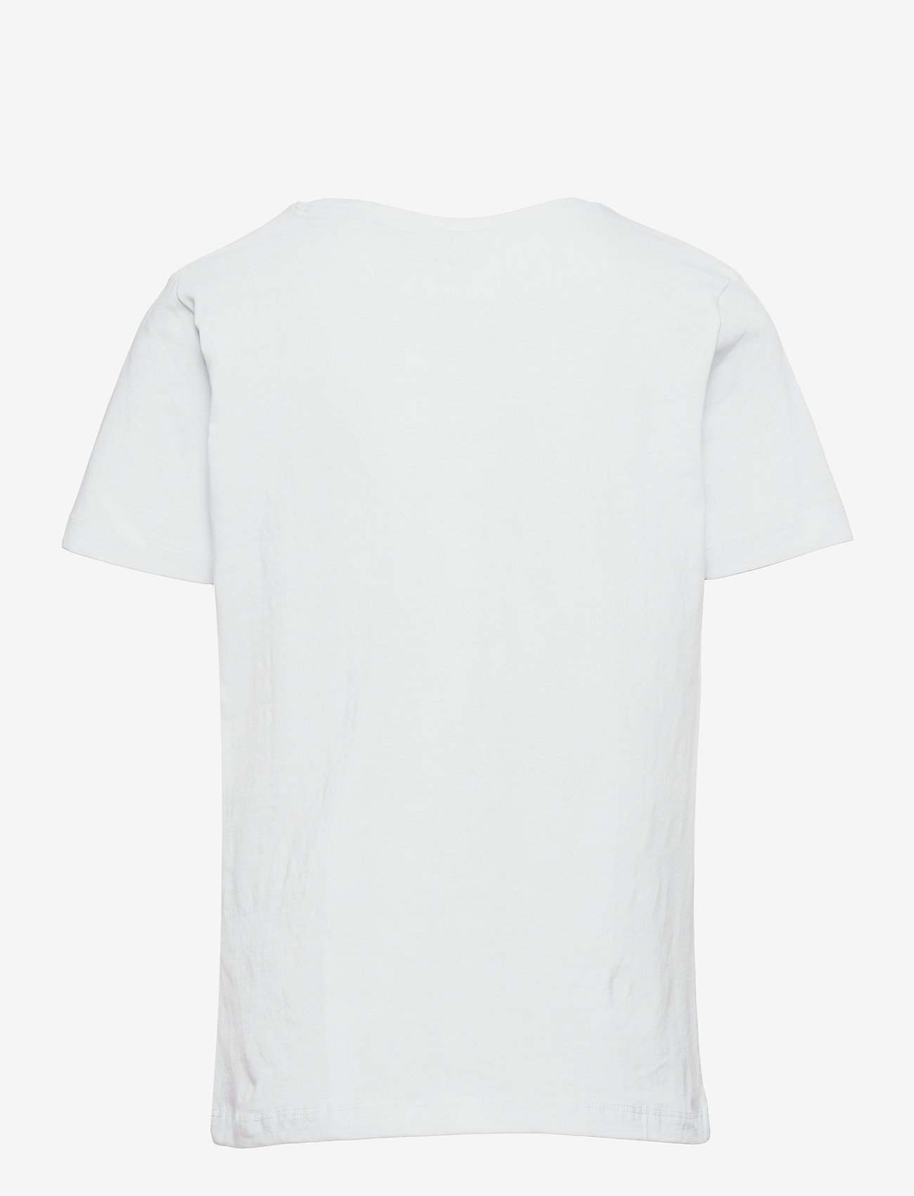 name it - NKMMENTOS ALEC SS TOP VDE - t-shirts - bright white - 1