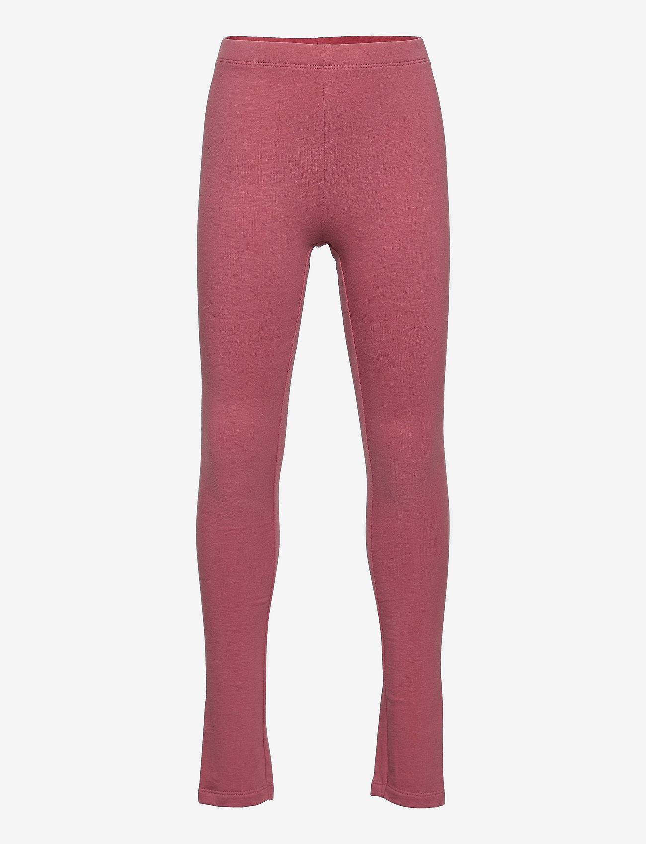 name it - NKFDAVINA SOLID SWE LEGGING  BRU N - leggings - deco rose - 0