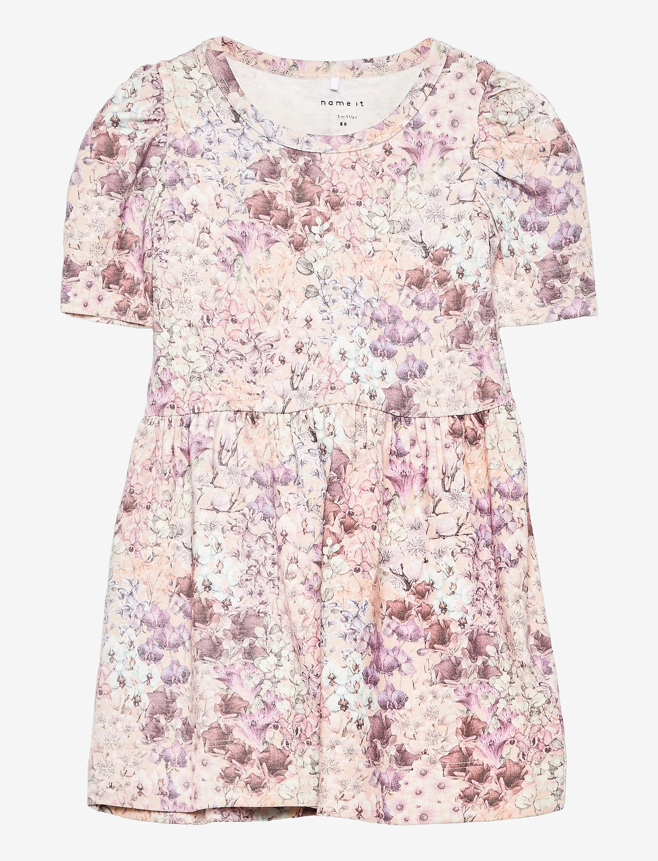 name it - NMFFELLA SS DRESS - kleider - whisper pink - 0