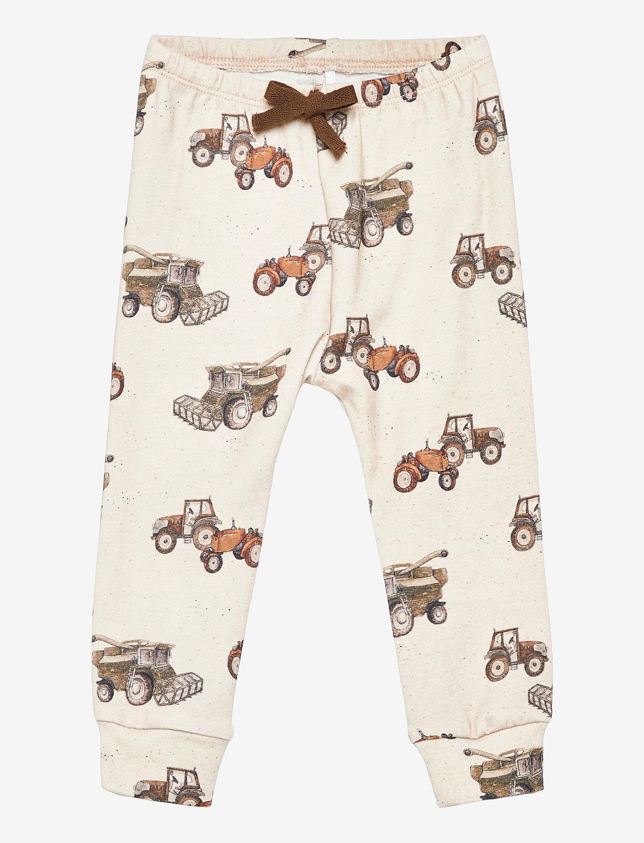 name it - NBMFELLS XSL PANT - trousers - peyote melange - 0