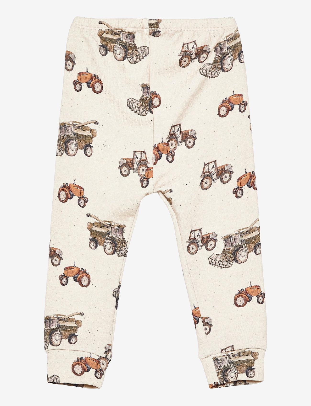 name it - NBMFELLS XSL PANT - trousers - peyote melange - 1