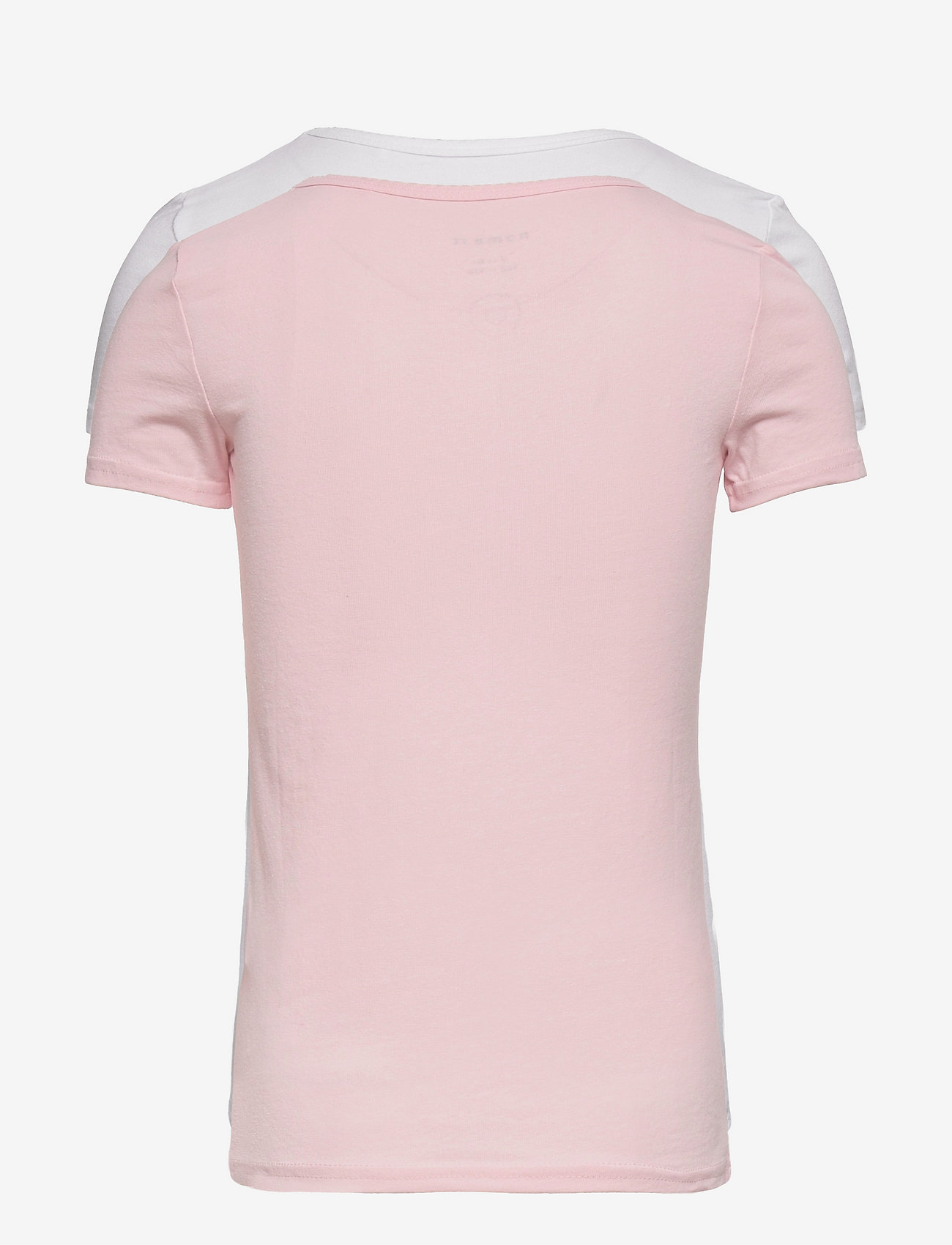 name it - NKFTOP SS SLIM 2P BARELY PINK - t-shirts - barely pink - 1