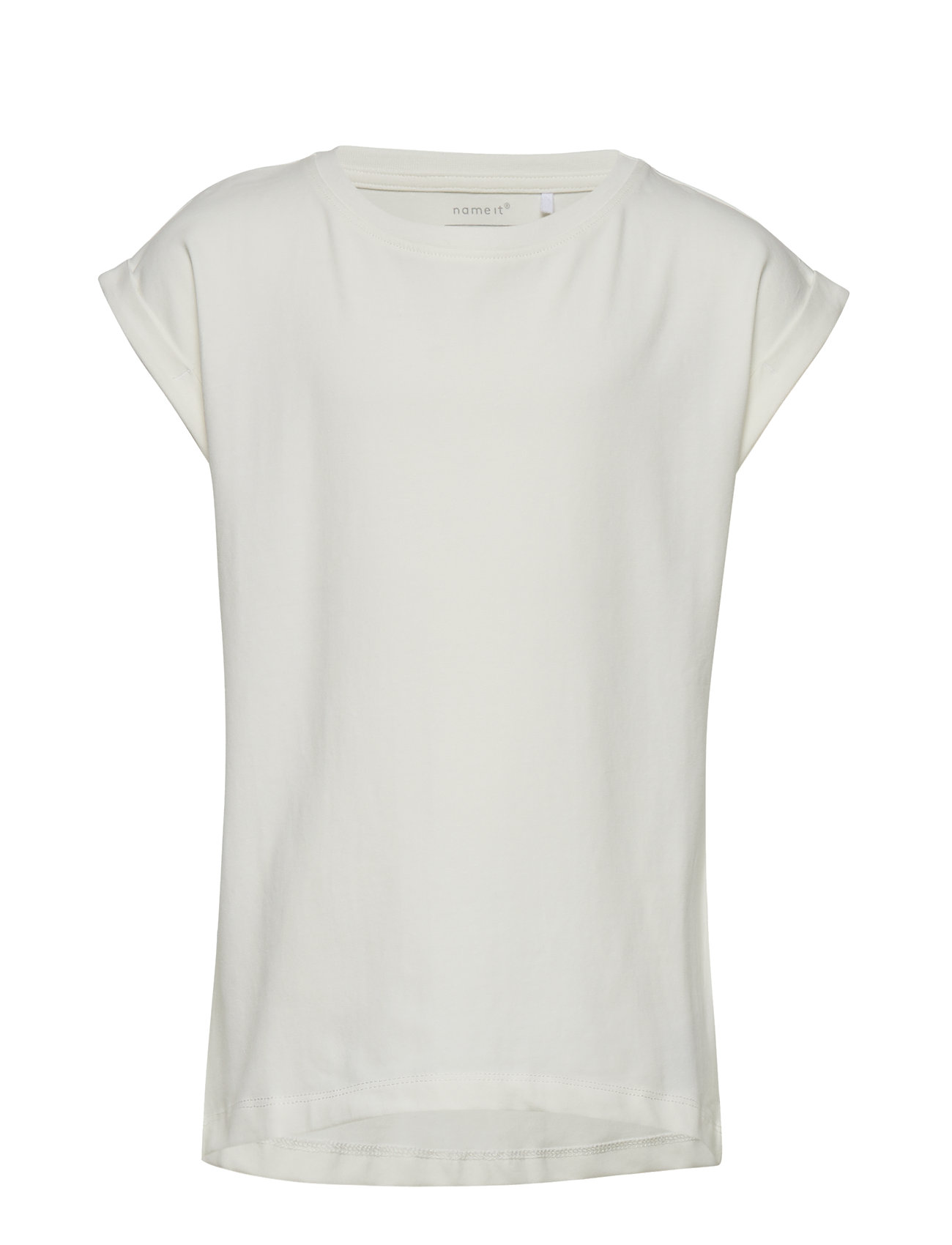 Image of Nkfvilda Ss Top Noos T-shirt Hvid NAME IT (2935833659)