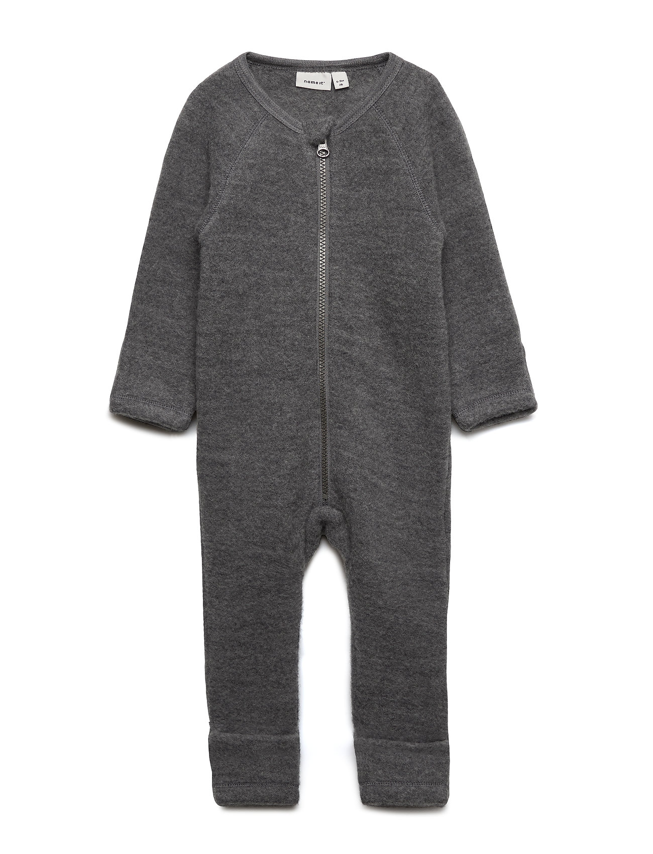 name it NBMWMINO WOOL BRU LS SUIT XIX - DARK GREY MELANGE