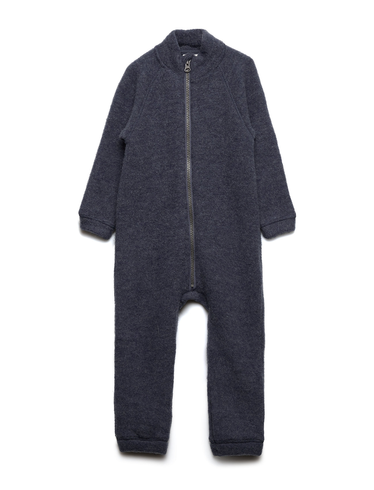 name it NMMWMINO WOOL BRUSHED LS SUIT XIX - OMBRE BLUE
