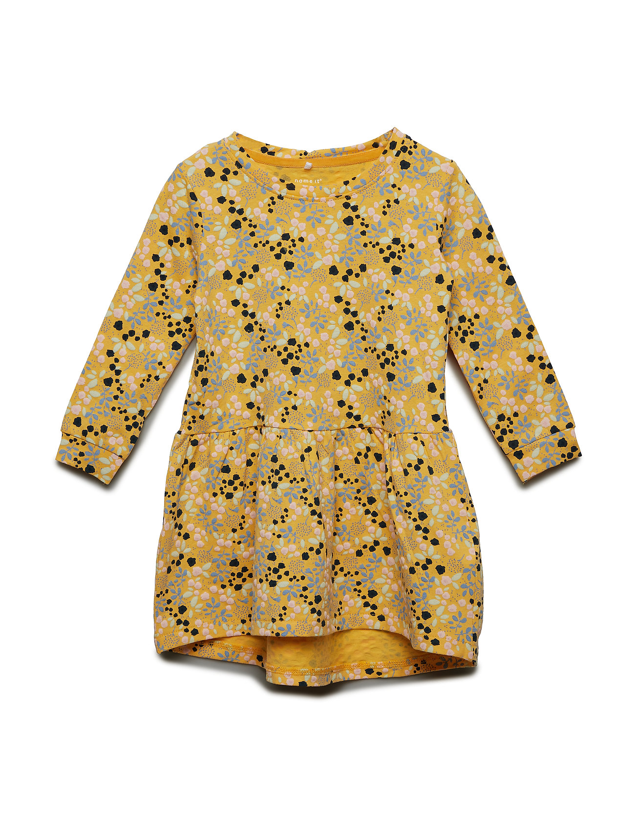 Image of Nmffijane Ls Dress Kjole Gul NAME IT (3142892289)