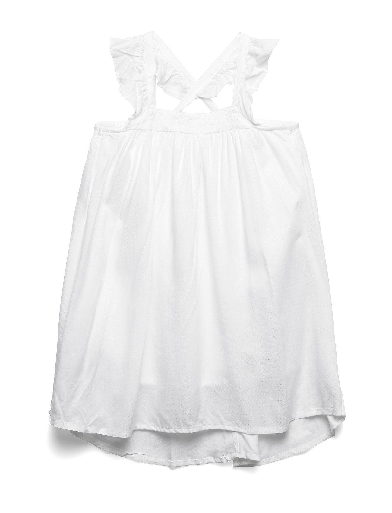 name it NKFHELDIG  STRAP DRESS - BRIGHT WHITE