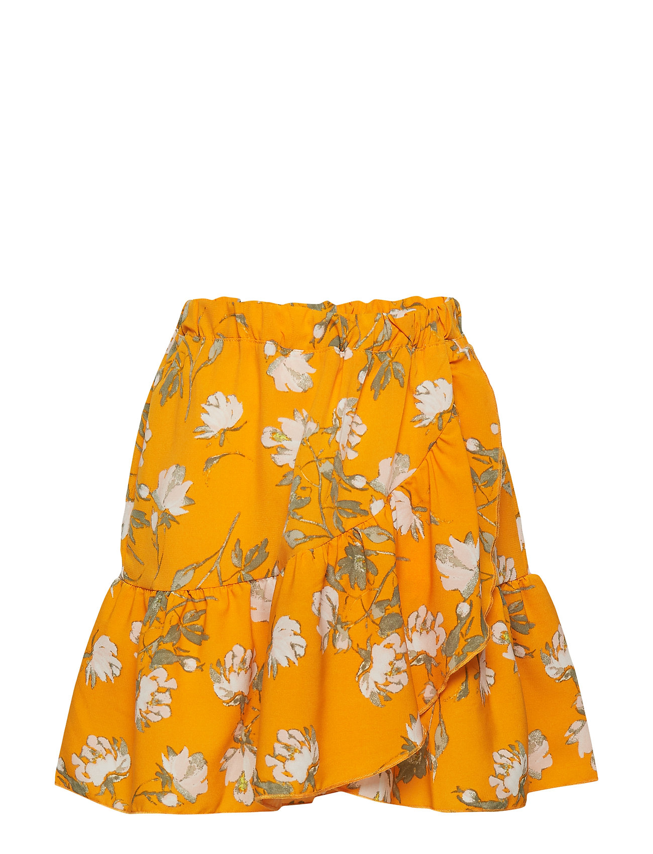 Image of Nkfvinaya Wrap Skirt K Nederdel Orange NAME IT (3191340573)