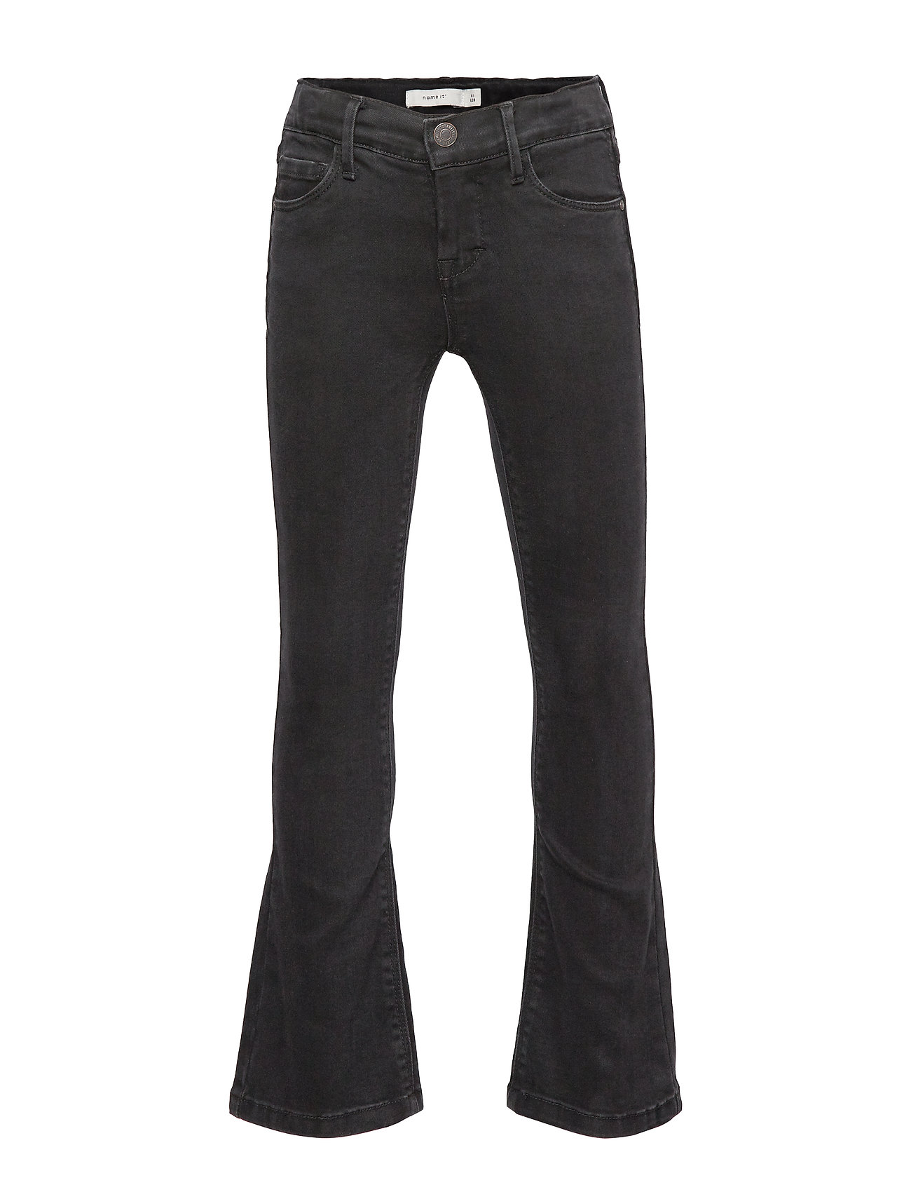 name it NKFABECKY DNM 7278 BOOTCUT PANT - BLACK DENIM