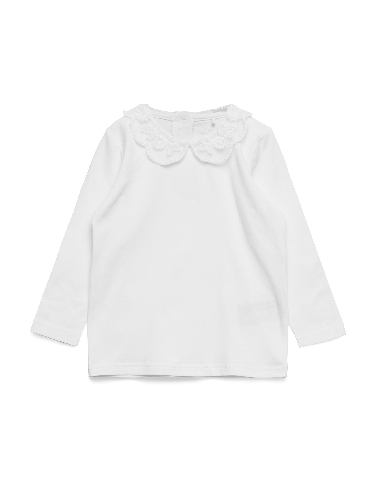 name it NMFRUTH LS TOP - BRIGHT WHITE