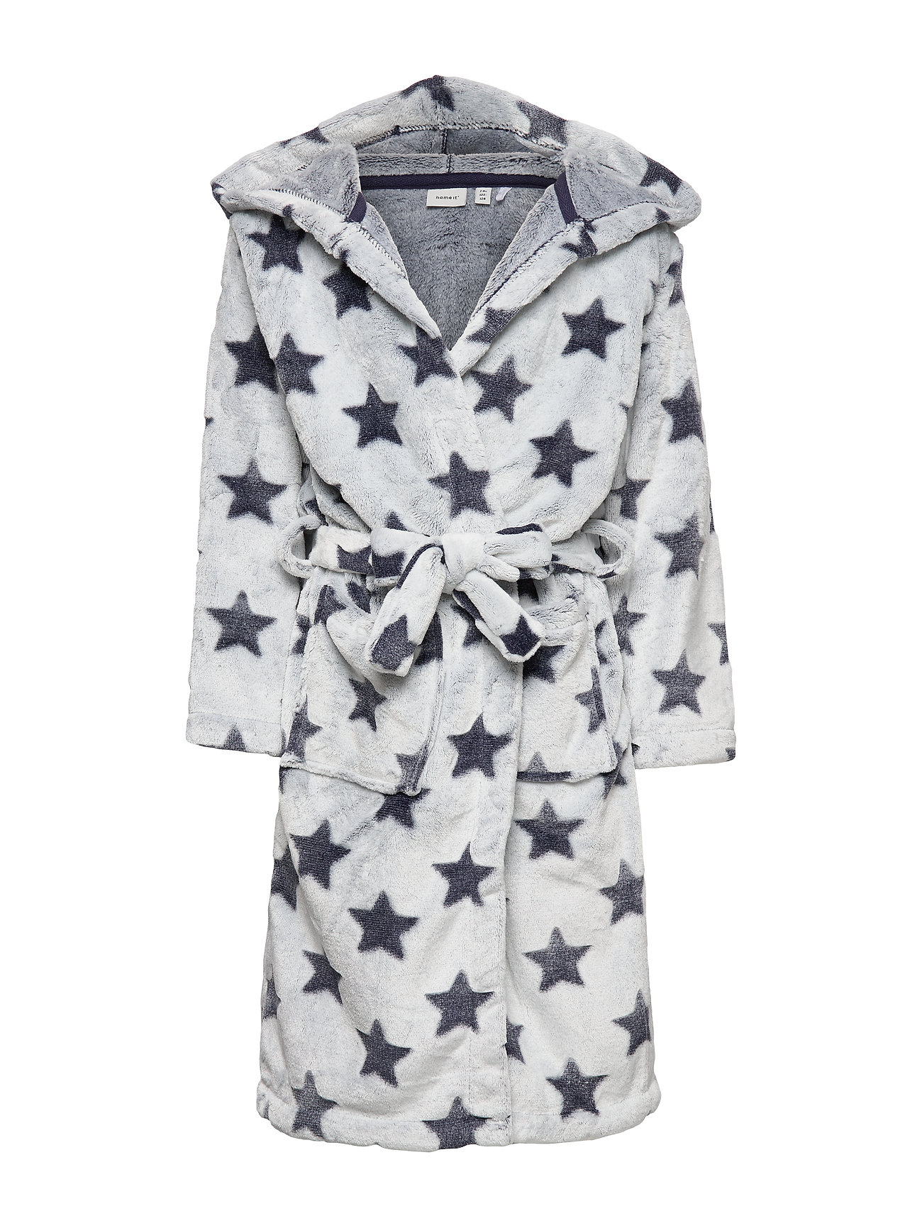 name it NKMREETAN BATHROBE - DARK SAPPHIRE