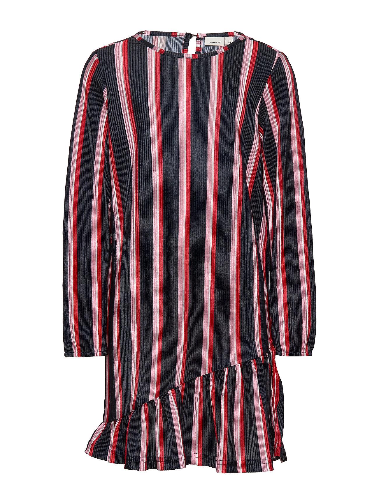 Image of Nkfbisma Ls Dress Kjole Blå Name It (3341927443)