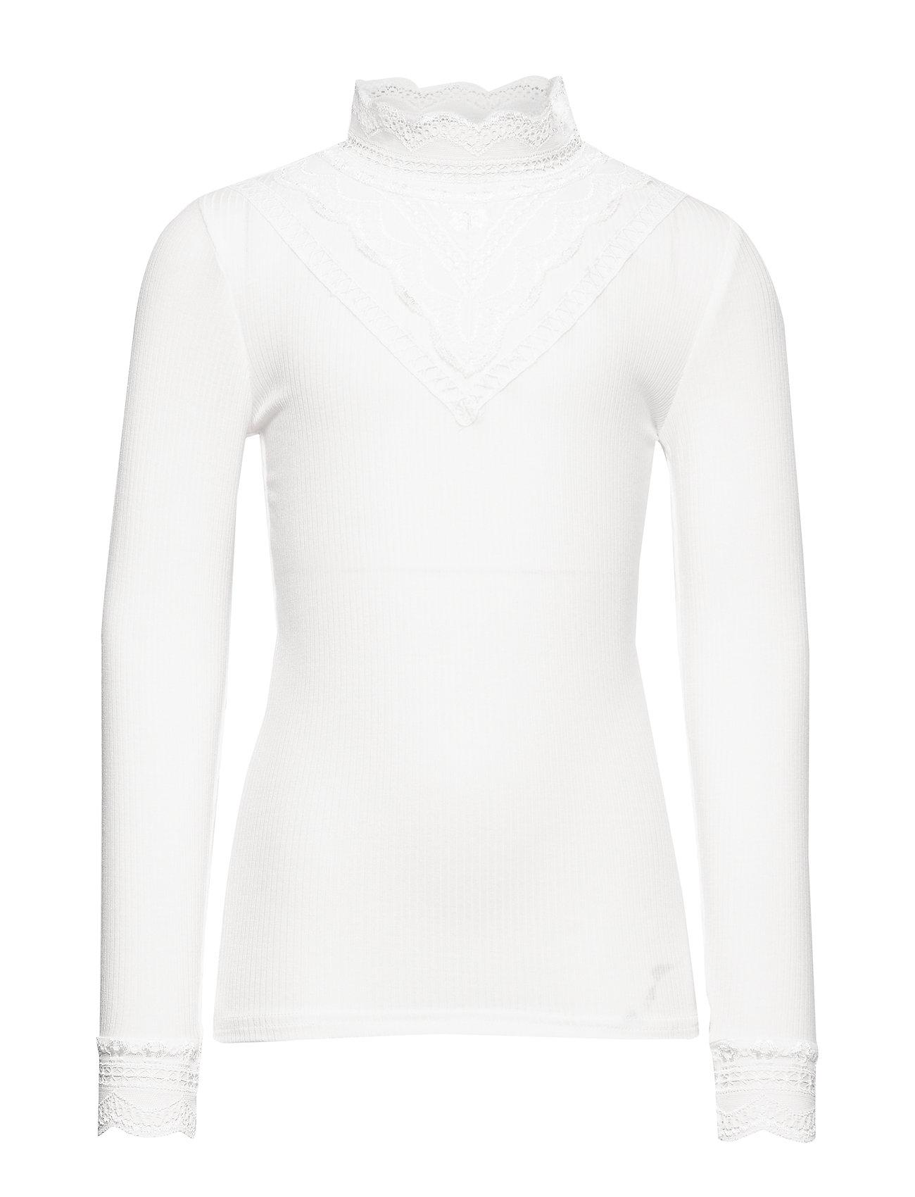 name it NKFRUNI LS XSL TOP NOOS - SNOW WHITE