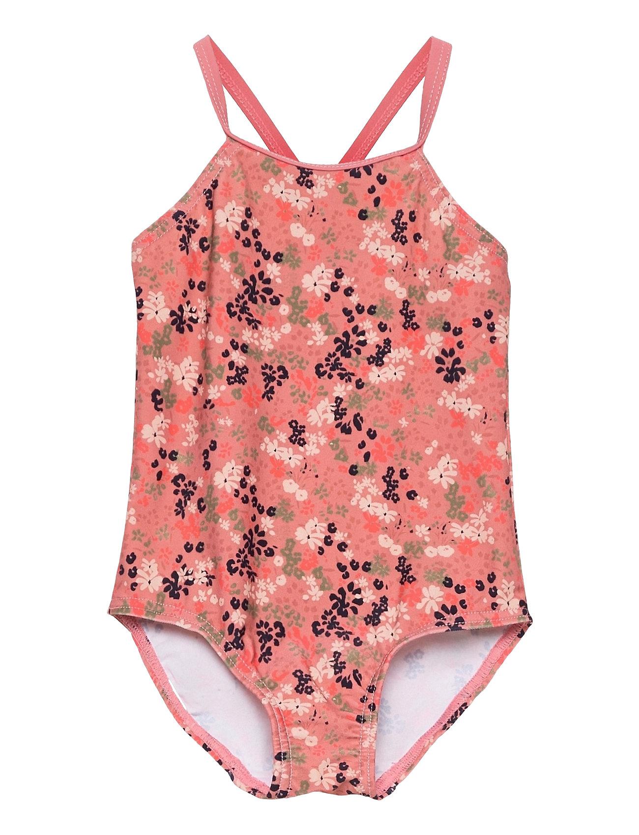 Image of Nmfziflower Swimsuit Badedragt Badetøj Lyserød Name It (3513567675)