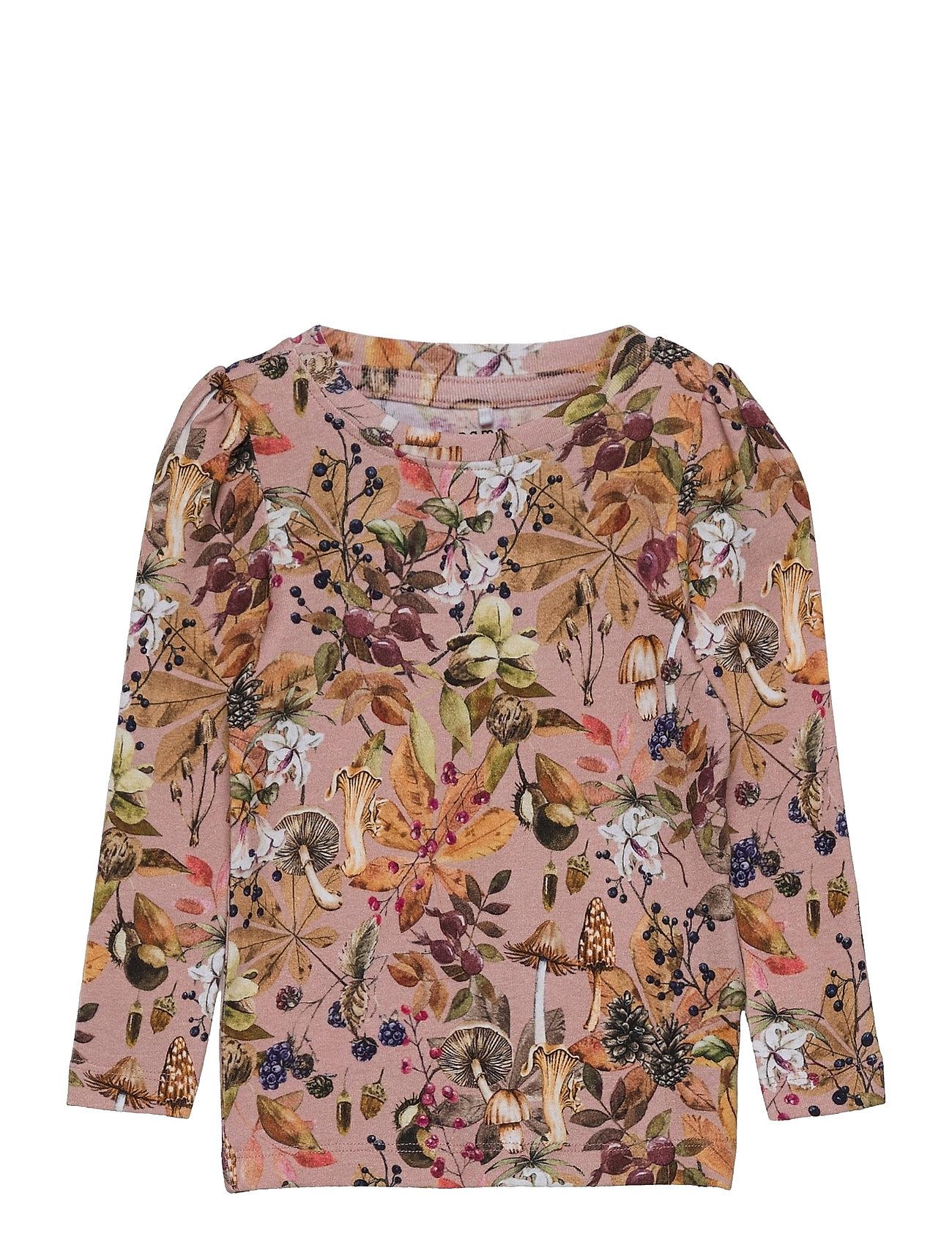 Nmflinda Ls Top Langærmet T-shirt Multi/mønstret Name It