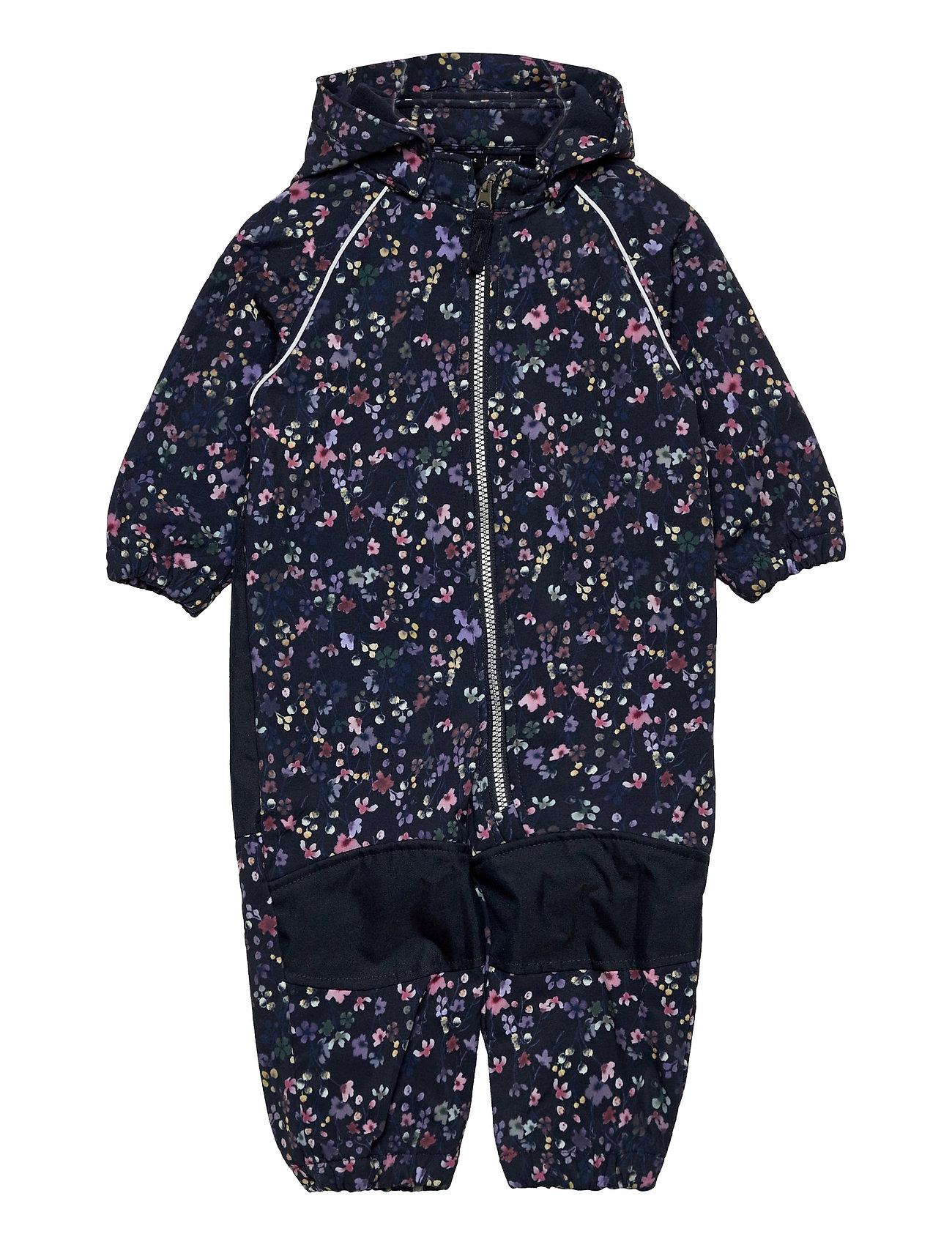 Nmfalfa Suit Wild Flower Fo Outerwear Rainwear Sets & Coveralls Blå Name It