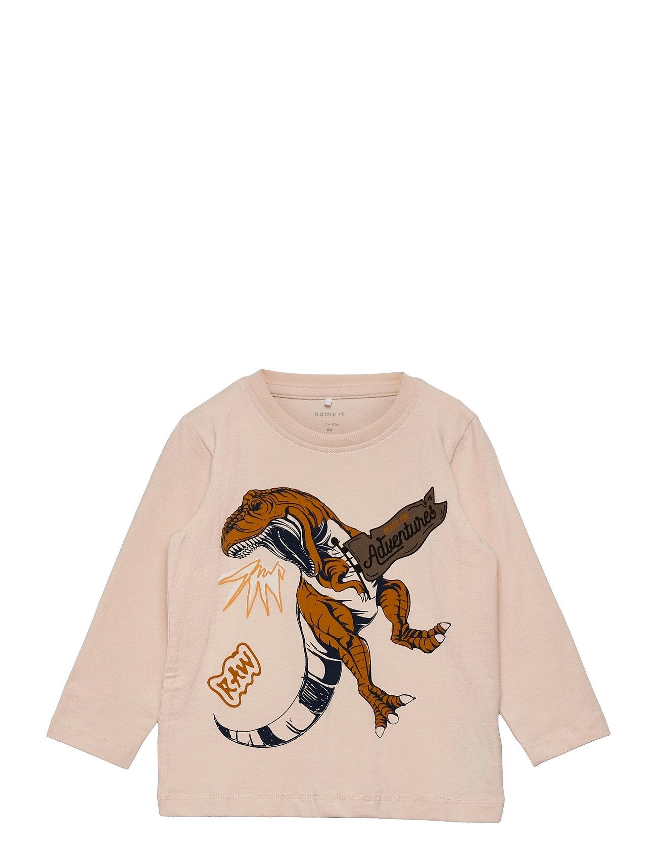 Nmmlukaso Ls Top Langærmet T-shirt Lyserød Name It