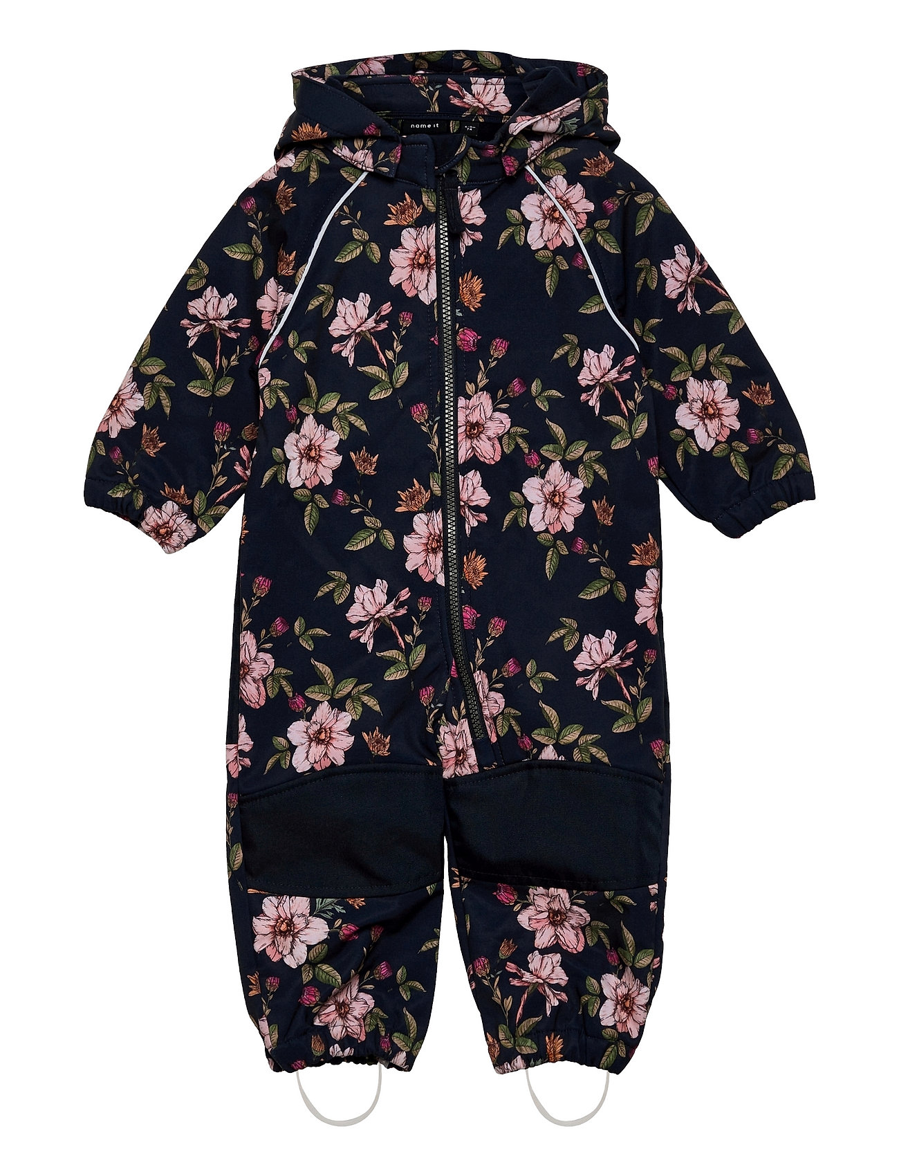 Nmfalfa Suit Floral 1fo Outerwear Softshells Softshell Sets & Suits Blå Name It