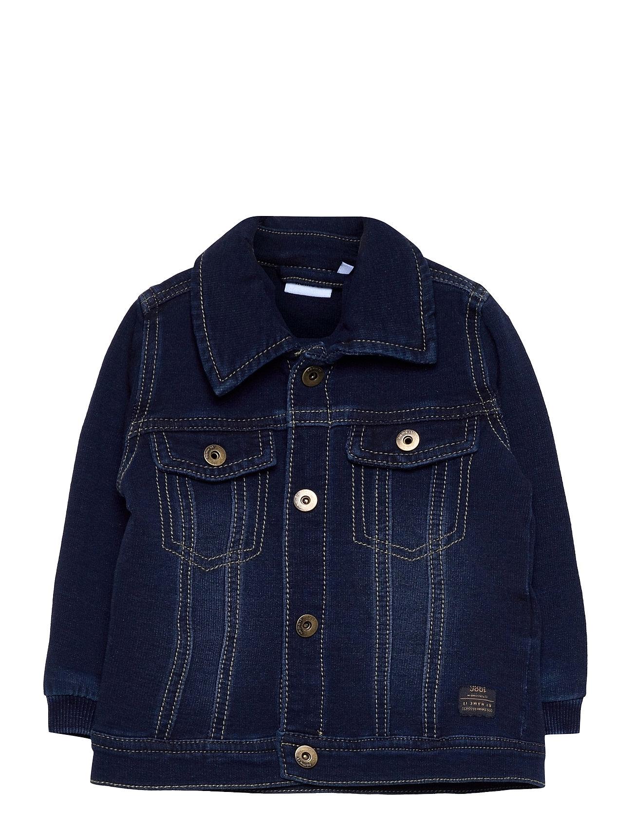 Nbmbtruebos 3526 Swe Dnm Cardigan Outerwear Jackets & Coats Denim & Corduroy Blå Name It