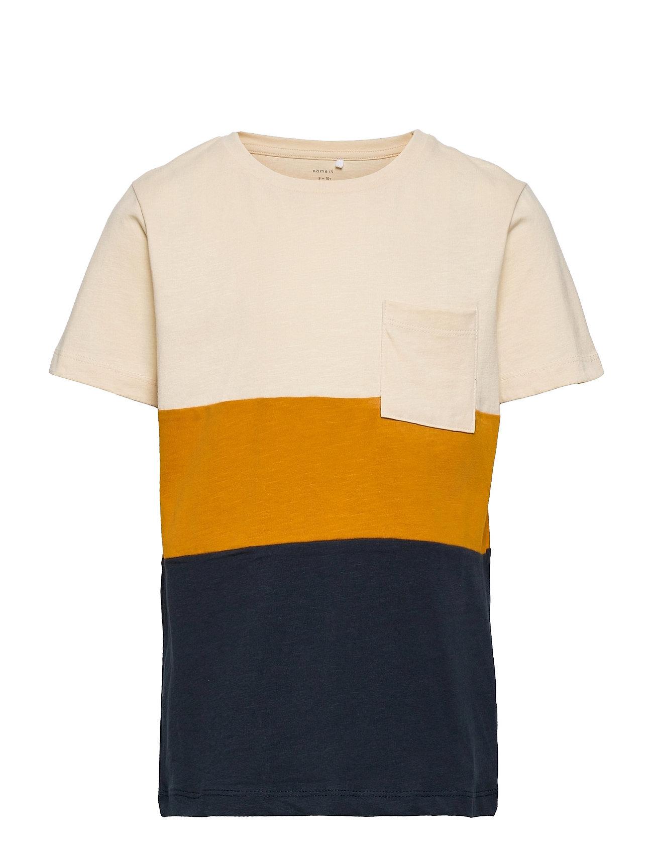 Nkmlaso Ss Top T-shirt Multi/mønstret Name It