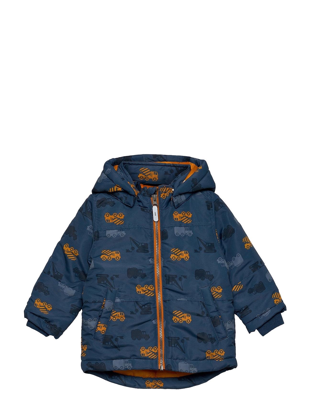 Nmmmax Jacket Trucks Outerwear Jackets & Coats Windbreaker Blå Name It