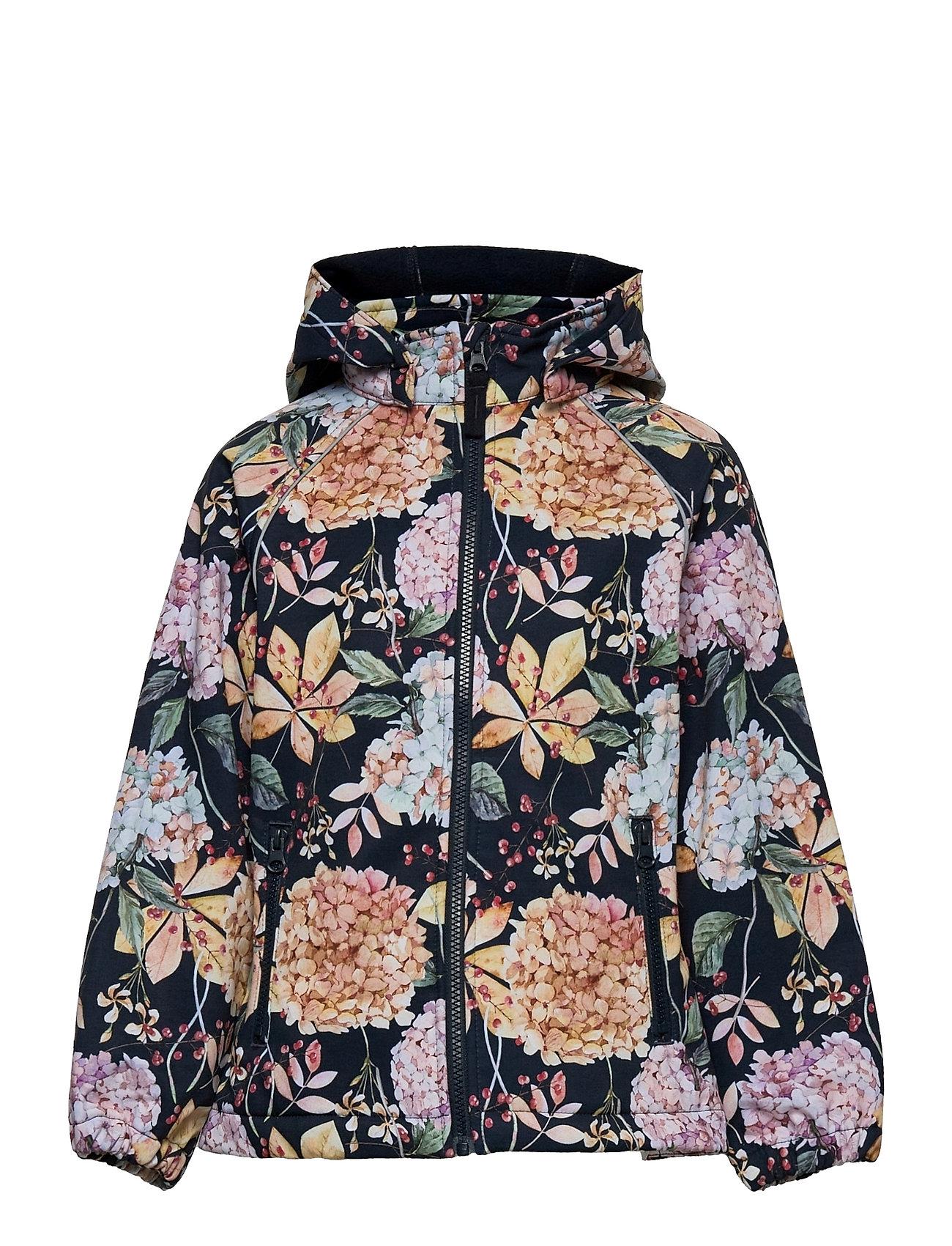 Nkfalfa Jacket Winter Flower Fo Outerwear Jackets & Coats Windbreaker Multi/mønstret Name It