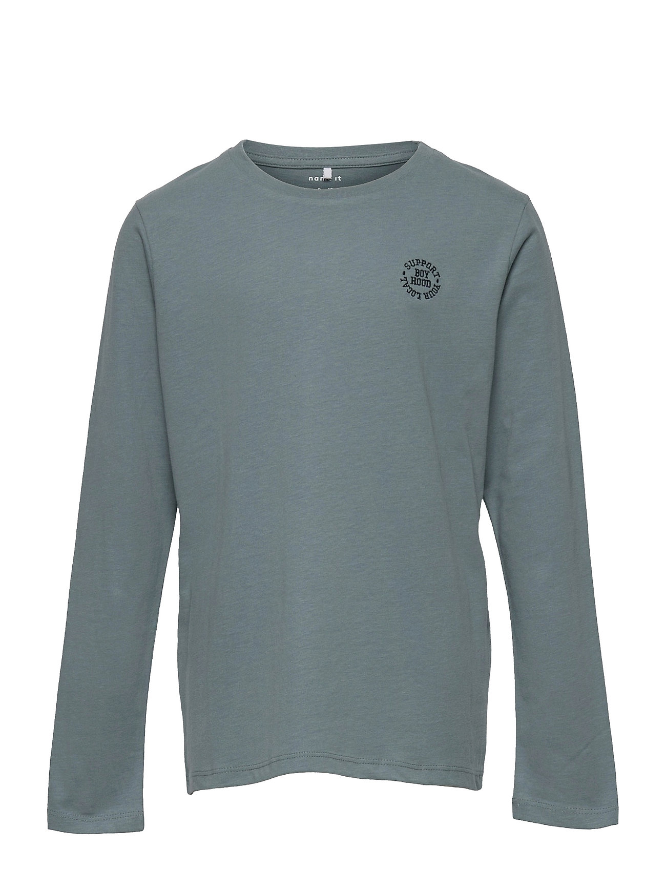 Nkmtano Ls Top Langærmet T-shirt Blå Name It