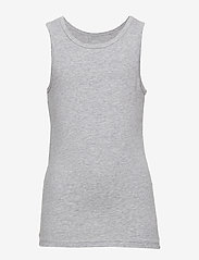 name it - NKMTANK TOP 2P GREY MELANGE NOOS - Ærmeløse - grey melange - 2