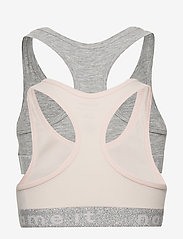 name it - NKFSHORT TOP 2P BARELY PINK LUREX NOOS - tops - barely pink - 1
