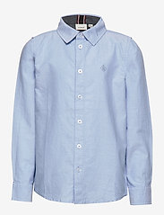 name it - NKMNEWSA LS SHIRT NOOS - chemises - campanula - 0
