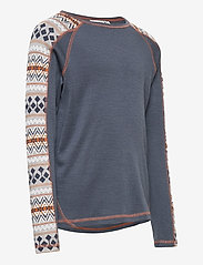 name it - NKMWILLTO WOOL LS TOP NOOS XX - basislag - ombre blue - 3