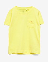 name it - NMMVEBBE SS TOP H - short-sleeved - limelight - 0