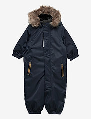 name it - NMMSNOW10 SUIT  2FO - snowsuit - dark sapphire - 0