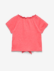 name it - NMFHASWEET SS TOP - short-sleeved - calypso coral - 1