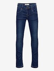 name it - NKFSALLI DNMTHAYERS 3391 SWE PANT NOOS - jeans - dark blue denim - 0