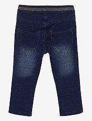 name it - NMFSALLI DNMTORINA 3246 SWE LEGGING NOOS - jeans - dark blue denim - 1