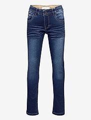 name it - NKMROBIN DNMTOBOS 3455 SWE PANT NOOS - jeans - dark blue denim - 0